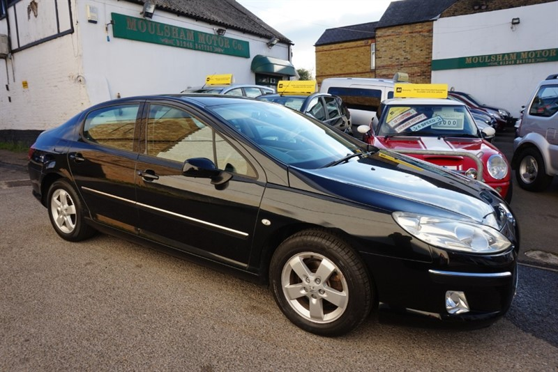 used Peugeot 407 HDI SE in chelmsford-essex
