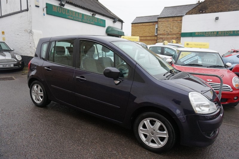used Renault Modus GRAND DYNAMIQUE TCE in chelmsford essex