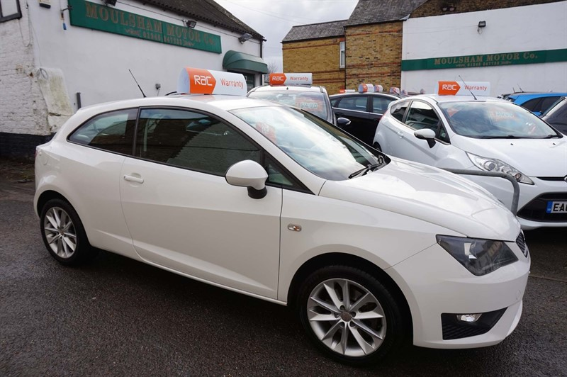 used SEAT Ibiza TDI CR FR SportCoupe 3dr in chelmsford-essex