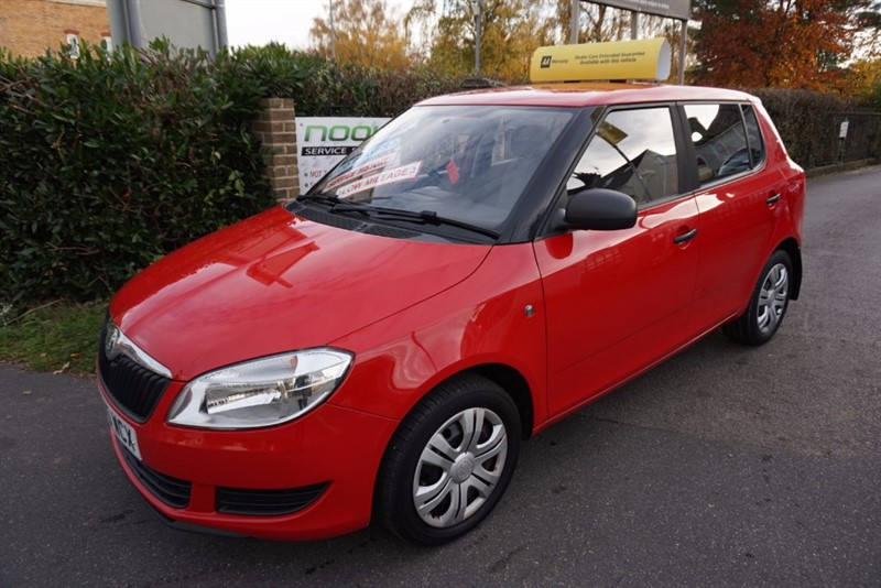 used Skoda Fabia S 6V in chelmsford-essex