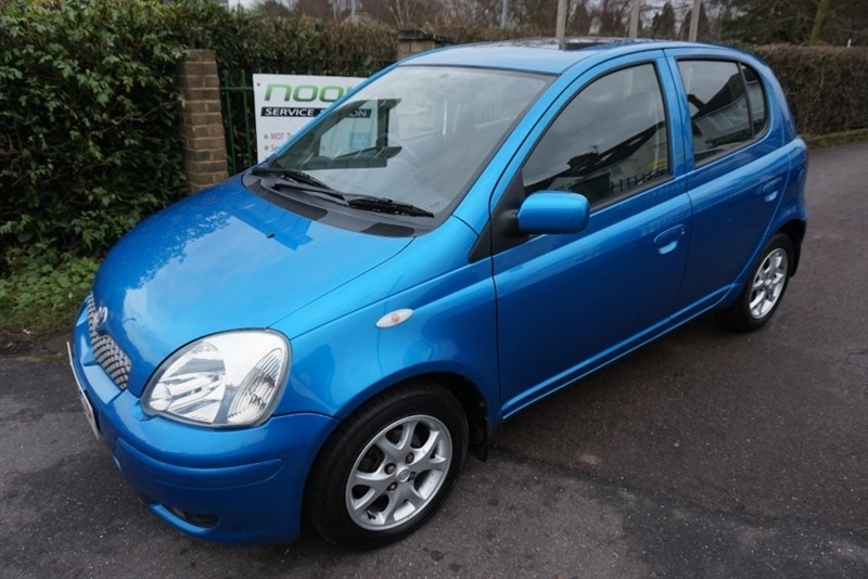 used Toyota Yaris VVTI T SPIRIT in chelmsford-essex