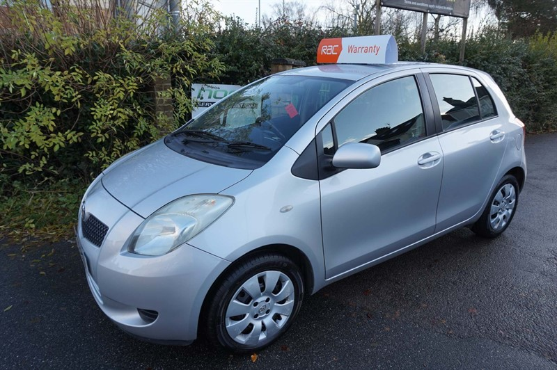 used Toyota Yaris VVT-i T3 5dr in chelmsford-essex