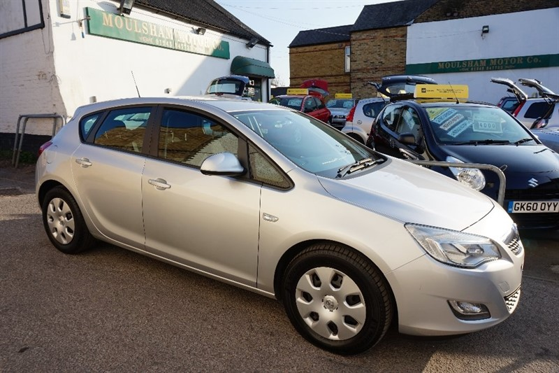 used Vauxhall Astra CDTi ecoFLEX 16v ES 5dr in chelmsford essex