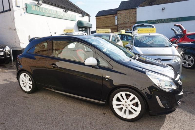 used Vauxhall Corsa SRI in chelmsford-essex
