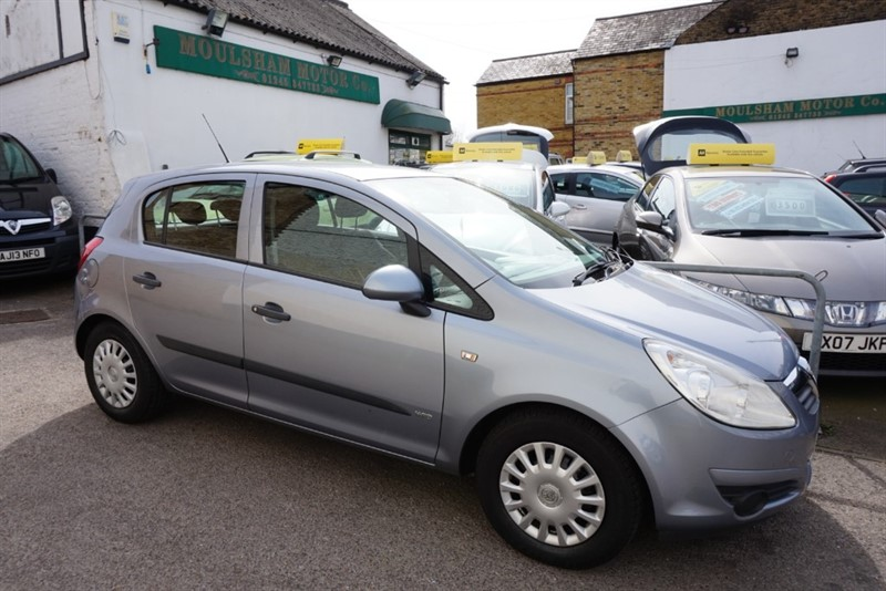 used Vauxhall Corsa LIFE 16V in chelmsford essex