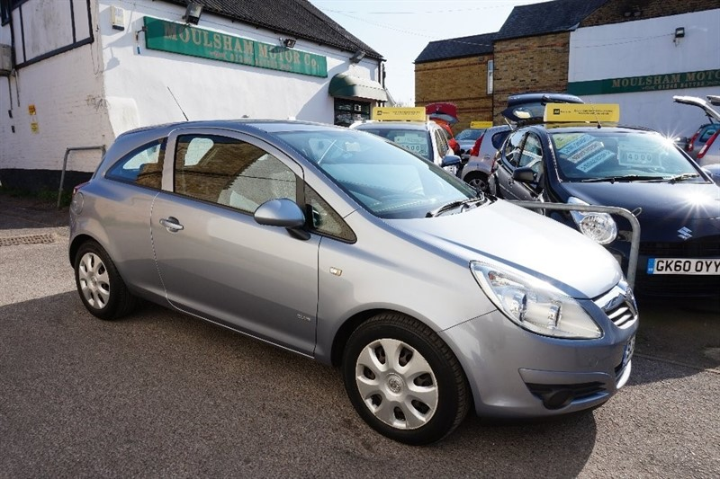 used Vauxhall Corsa i 16v Club 3dr in chelmsford essex