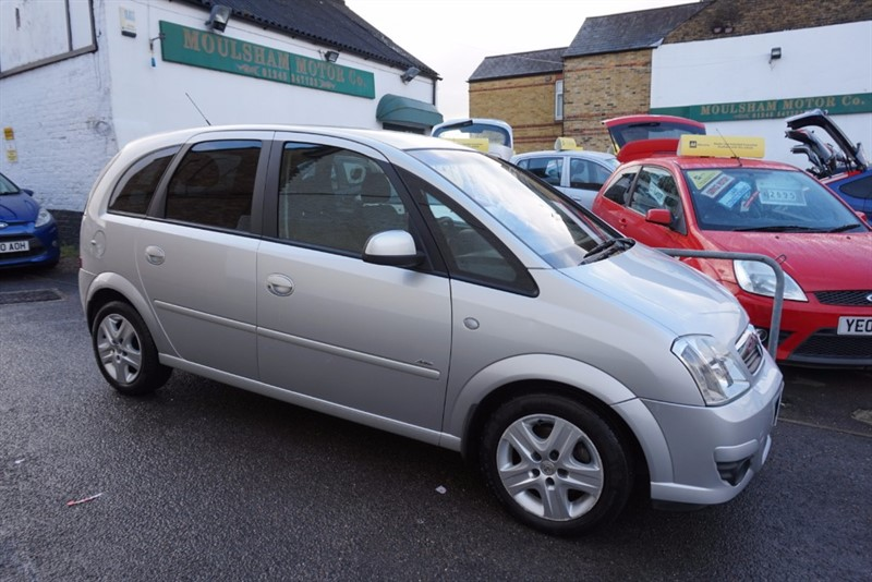 used Vauxhall Meriva ACTIVE in chelmsford essex