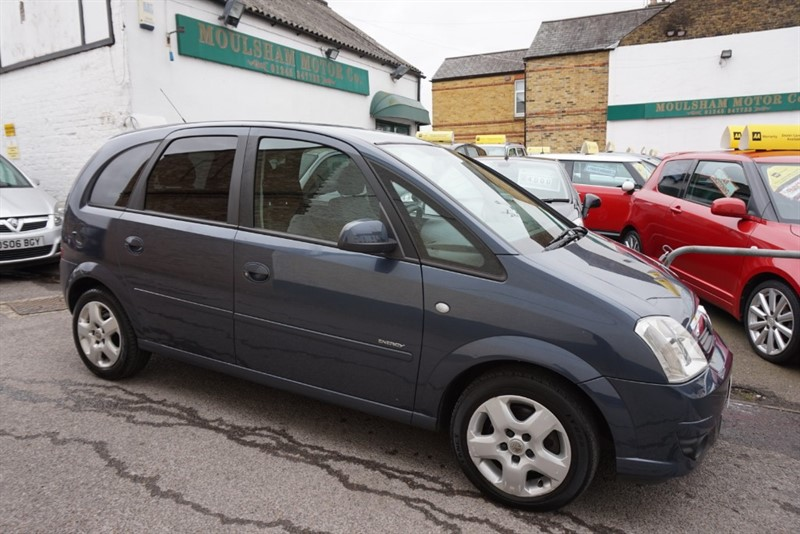 used Vauxhall Meriva ENERGY 16V in chelmsford essex