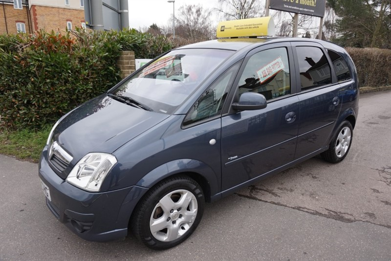 used Vauxhall Meriva BREEZE 16V in chelmsford essex