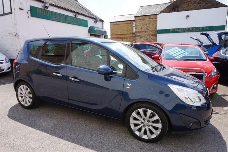 used Vauxhall Meriva SE CDTI in chelmsford-essex