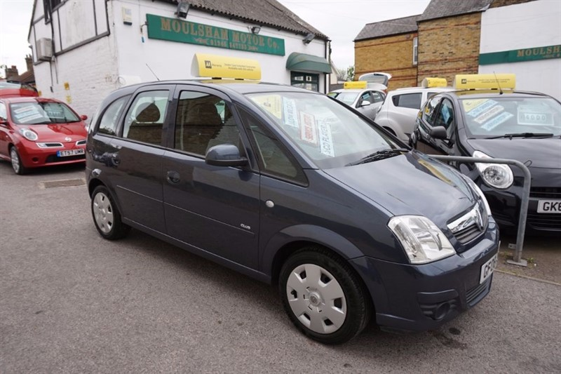 used Vauxhall Meriva i 16v Club 5dr in chelmsford essex