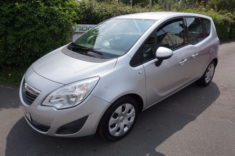 used Vauxhall Meriva EXCLUSIV in chelmsford essex