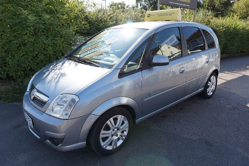 used Vauxhall Meriva ACTIVE 16V in chelmsford essex