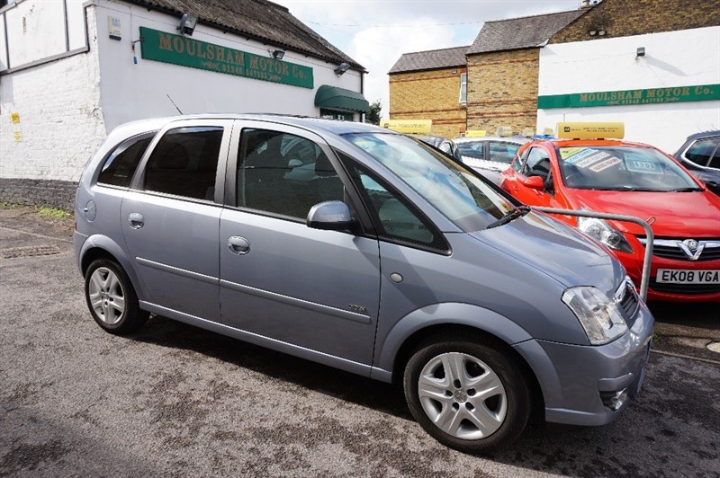 used Vauxhall Meriva DESIGN 16V in chelmsford essex