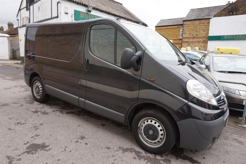 used Vauxhall Vivaro 2700 CDTI P/V in chelmsford essex