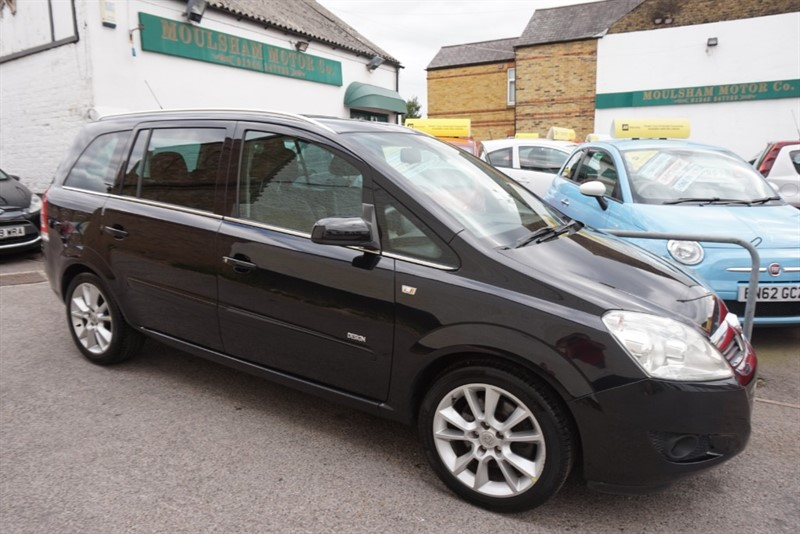 used Vauxhall Zafira DESIGN DIRECT in chelmsford-essex
