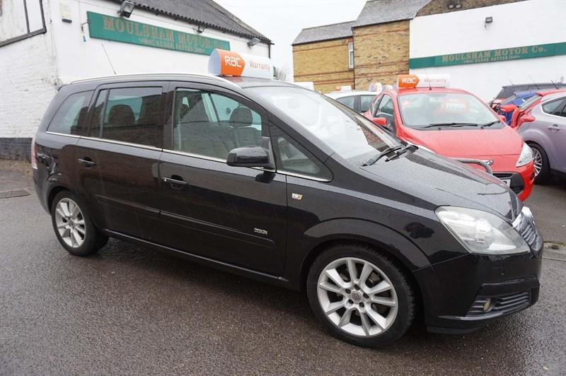 used Vauxhall Zafira CDTi 16v Design 5dr in chelmsford-essex