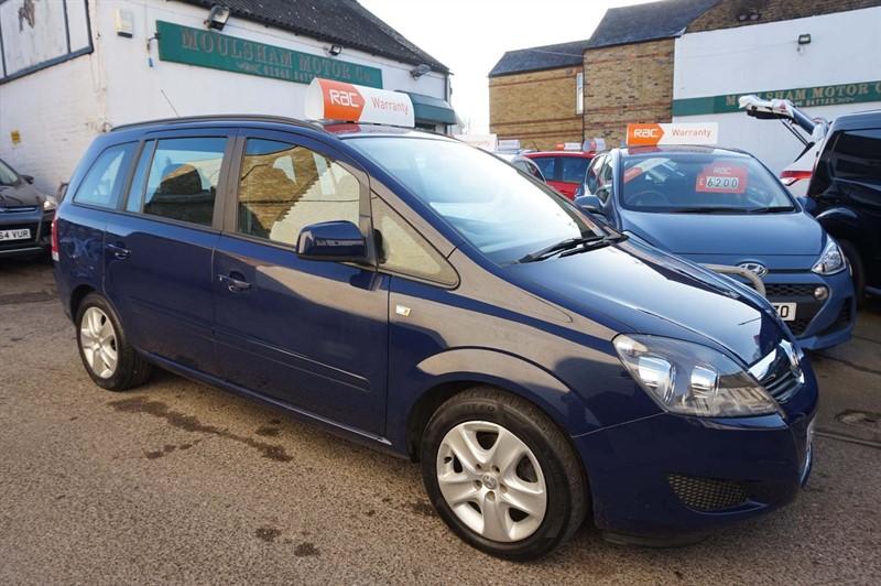 used Vauxhall Zafira i VVT 16v Exclusiv 5dr in chelmsford-essex