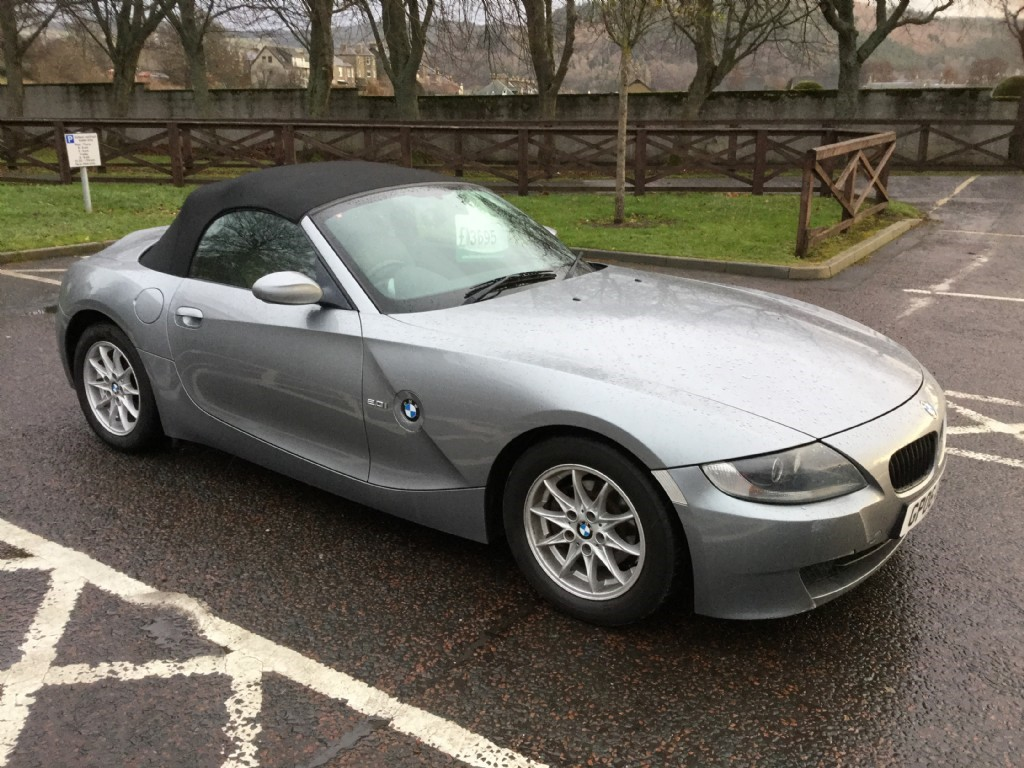 Used Grey BMW Z4 For Sale | Borders