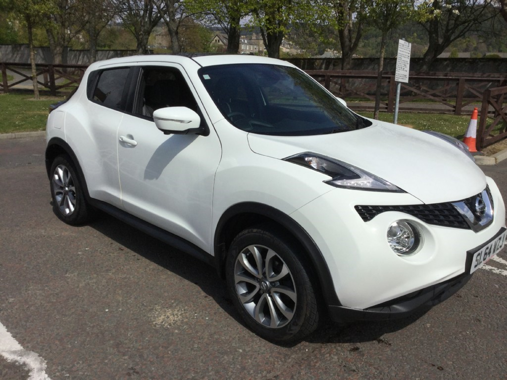 used white nissan juke for sale borders. Black Bedroom Furniture Sets. Home Design Ideas
