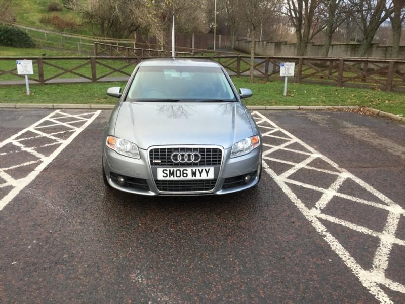 used Audi A4 TDI QUATTRO DPF S LINE in peebles-borders