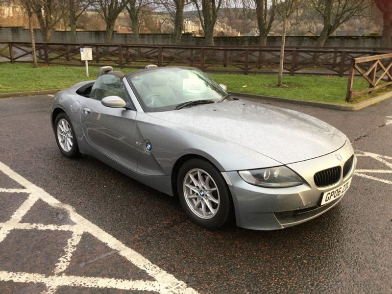 used BMW Z4 SE ROADSTER in peebles-borders