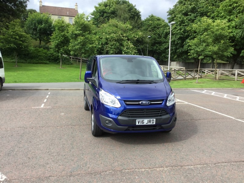 used Ford Transit Custom 270 LIMITED LR P/V in peebles-borders