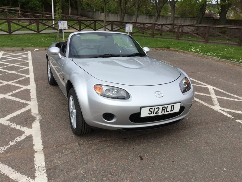used Mazda MX-5 I in peebles-borders