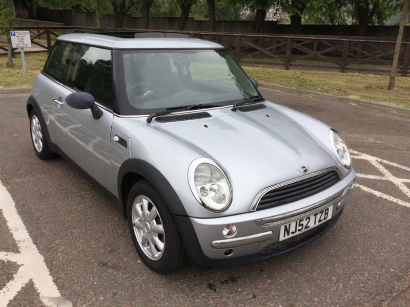 used MINI Hatch ONE in peebles-borders