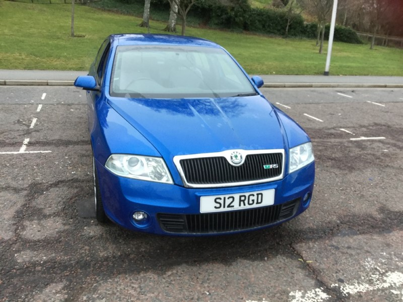 used Skoda Octavia VRS in peebles-borders