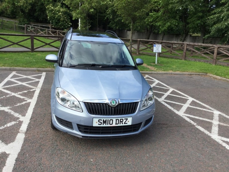 used Skoda Roomster SE TDI CR in peebles-borders