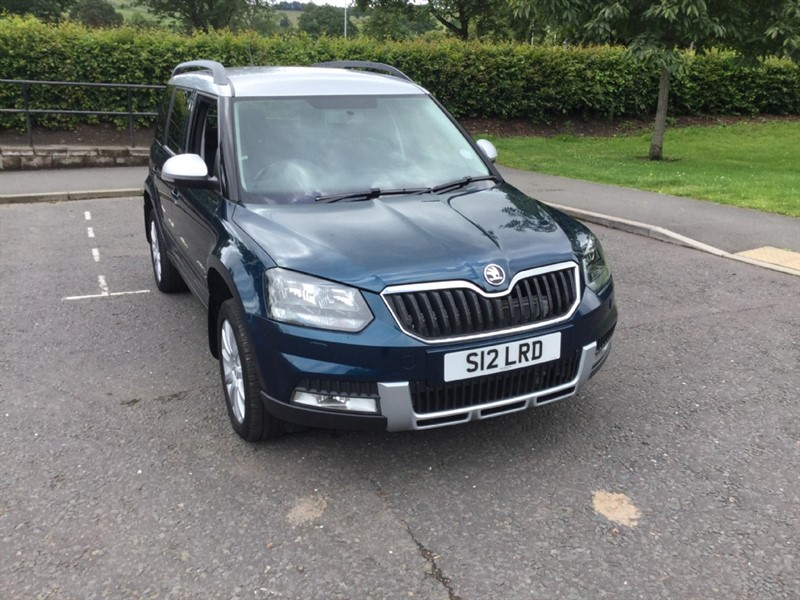 used Skoda Yeti OUTDOOR SE TDI CR in peebles-borders