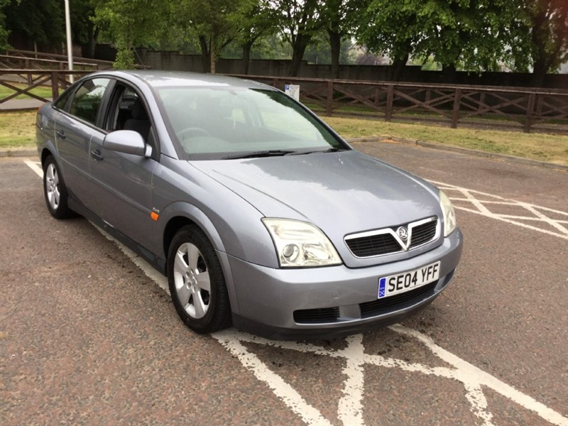 used Vauxhall Vectra CLUB 16V in peebles-borders