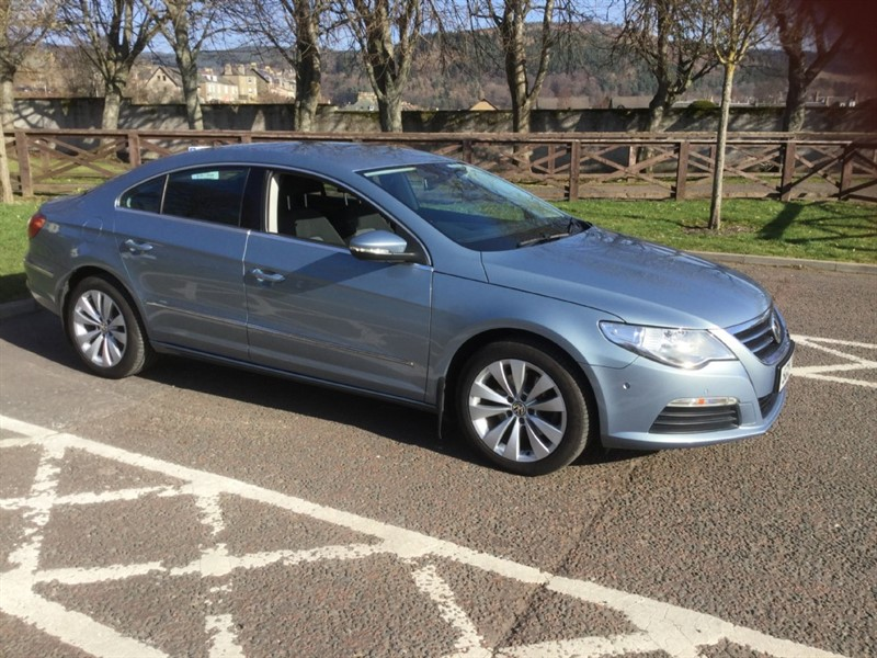 used VW Passat CC TSI in peebles-borders