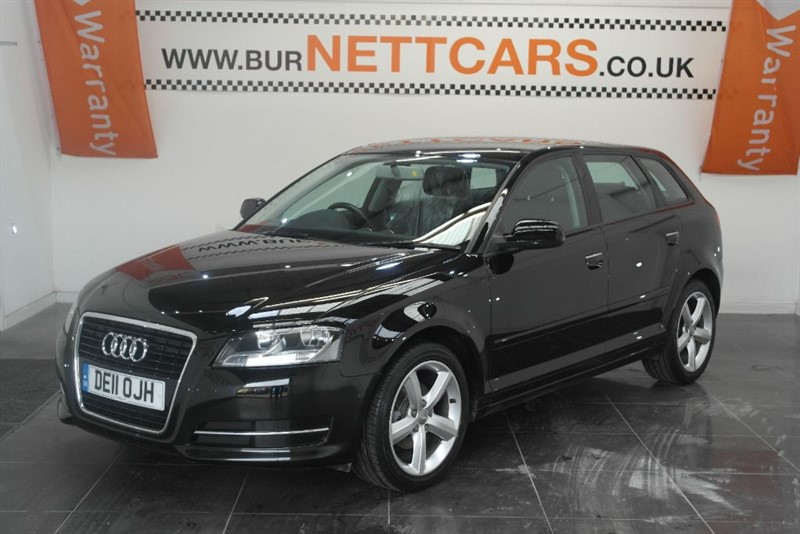 used Audi A3 SPORTBACK MPI TECHNIK in chorely-lancashire