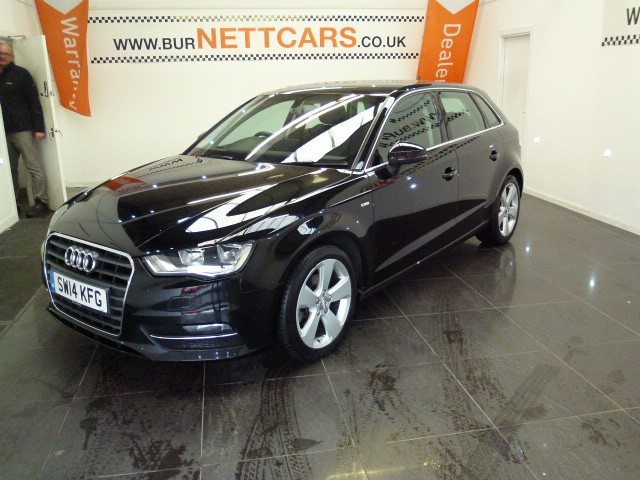 used Audi A3 TDI SPORT in chorely-lancashire