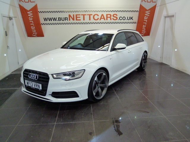 used Audi A6 Avant TDI S LINE BLACK EDITION in chorely-lancashire
