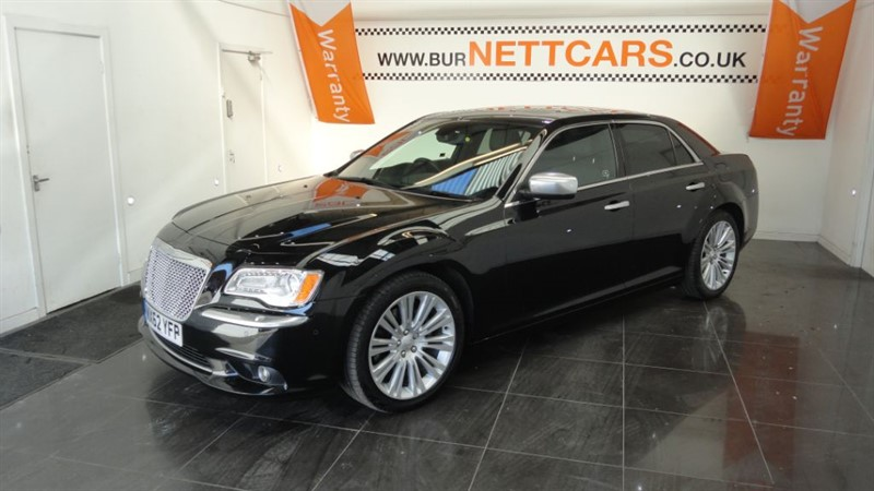 used Chrysler 300C CRD EXECUTIVE in chorely-lancashire