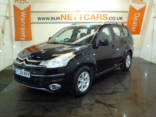 used Citroen C-Crosser HDI VTR PLUS in chorely-lancashire