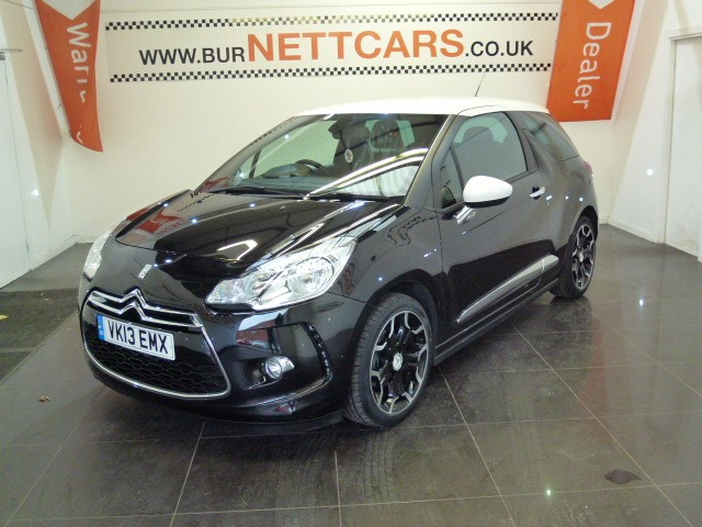 used Citroen DS3 E-HDI DSTYLE PLUS in chorely-lancashire