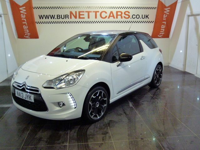 used Citroen DS3 DSTYLE PLUS in chorely-lancashire