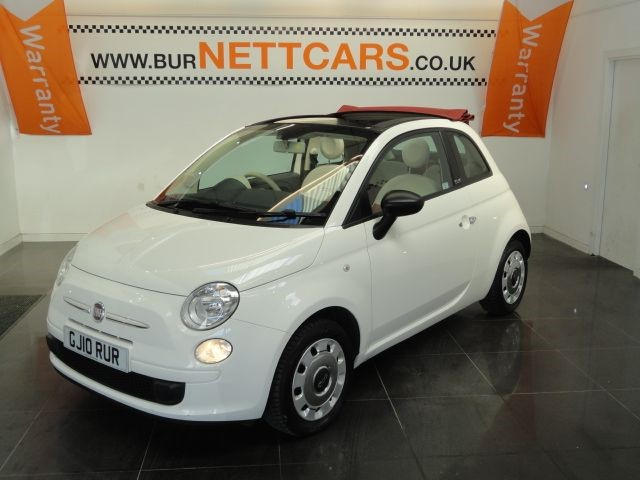 used Fiat 500 C POP in chorely-lancashire