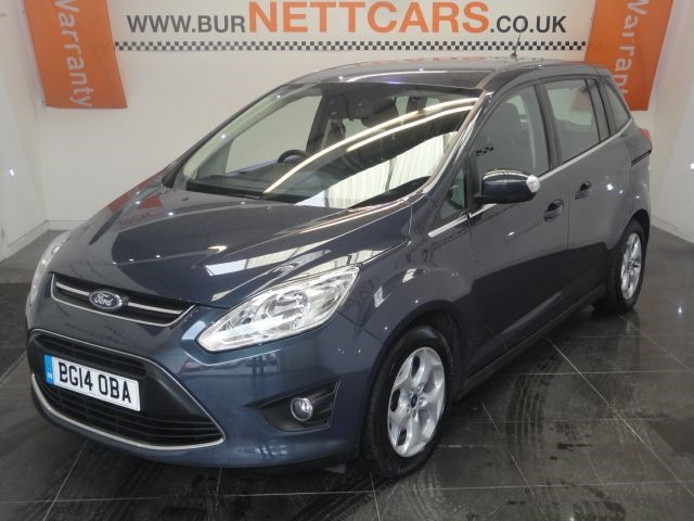 used Ford C-Max GRAND ZETEC TDCI in chorely-lancashire