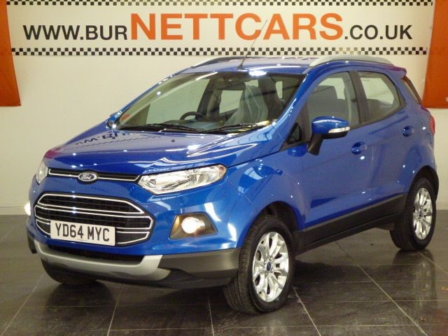 used Ford EcoSport TITANIUM in chorely-lancashire