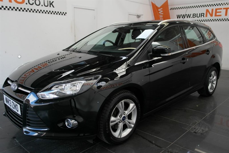 used Ford Focus ZETEC ECONETIC TDCI in chorely-lancashire
