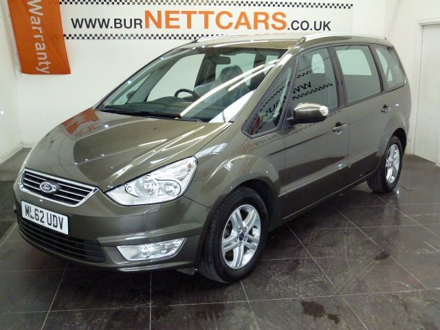 used Ford Galaxy ZETEC TDCI in chorely-lancashire