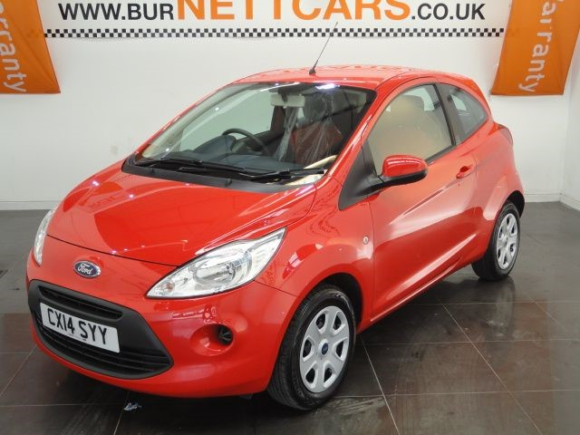 used Ford KA EDGE in chorely-lancashire