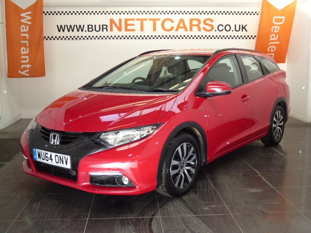 used Honda Civic I-DTEC SE PLUS-T TOURER in chorely-lancashire