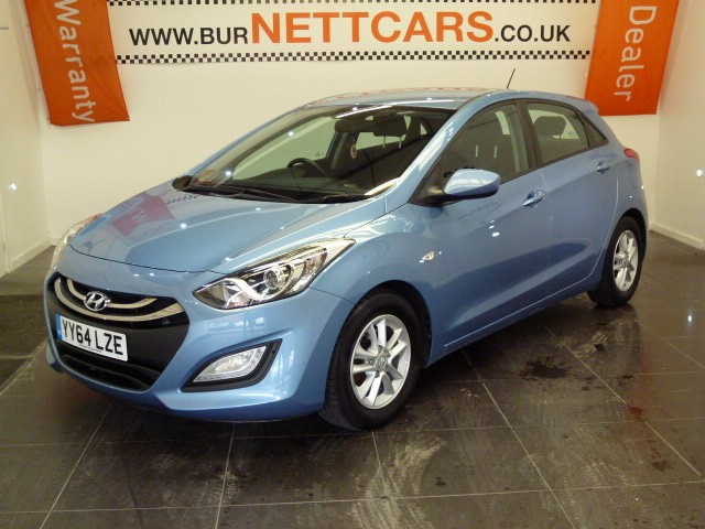 used Hyundai i30 CRDI ACTIVE BLUE DRIVE in chorely-lancashire