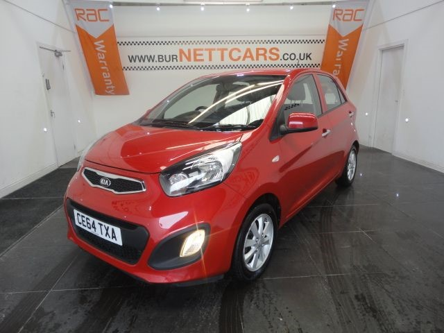 used Kia Picanto VR7 in chorely-lancashire